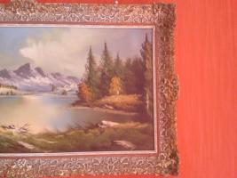 Foto 4 Wunderschöne alte Öl-Landschaftsbild