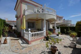 Wunderschöne große freistehende Luxusvilla mit Meerblick in Los Altos, Orihuela Costa, Spanien