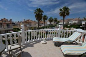 Foto 6 Wunderschöne große freistehende Luxusvilla mit Meerblick in Los Altos, Orihuela Costa, Spanien