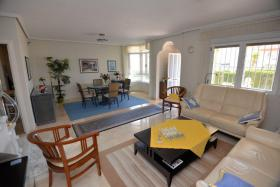 Foto 8 Wunderschöne große freistehende Luxusvilla mit Meerblick in Los Altos, Orihuela Costa, Spanien