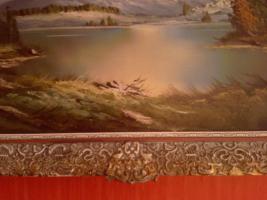 Foto 4 Wunderschöne  Öl-Landschaftsbild