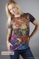 Wunderschönes DesignerShirt von Christian Audigier