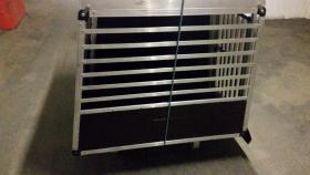 Foto 3 XXL – Doppel Hundetransportbox mit Notausstieg, Ablage und Trennwand