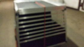 Foto 4 XXL – Doppel Hundetransportbox mit Notausstieg, Ablage und Trennwand