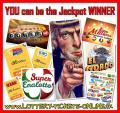 YOU can be the next lucky lottery jackpot winner !