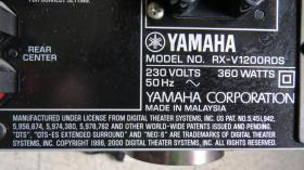 Foto 4 Yamaha Natural Sound AV Receiver RX-V1200 RDS