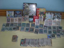 Yu-Gi-Oh Kartensammlung