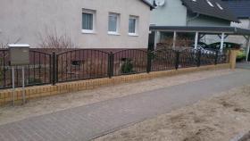 Foto 9 Zäune aus Polen Nov. – Jan. -15 % Gitter, Tore, Geländer, Treppen