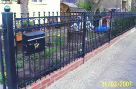 Foto 4 Zäune aus Polen: schmiedeeiserne und Doppelstabmatten