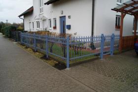 Foto 2 Zäune aus Polen, Zaun, Metallzäune, Doppelstabmatten, Schmiedeeisenzäune, Fenstergitter, Balkongeläder