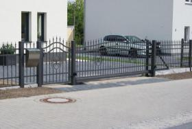 Foto 3 Zäune aus Polen, Zaun, Metallzäune, Doppelstabmatten, Schmiedeeisenzäune, Fenstergitter, Balkongeläder