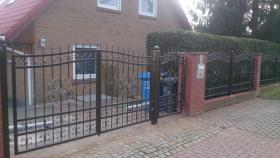 Foto 4 Zäune, Metallzäun aus Polen Zaunanlage, Toranlage nach Maß