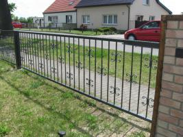 Foto 5 Zäune, Metallzäun aus Polen Zaunanlage, Toranlage nach Maß