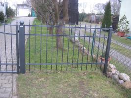 Foto 6 Zäune, Metallzäun aus Polen Zaunanlage, Toranlage nach Maß