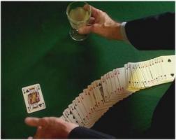 Kartentrick, ... die Geisterkarte