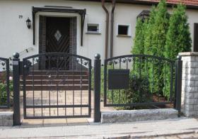 Zaun vom Hersteller aus Polen , Zaunanlage, Tore, Pforte