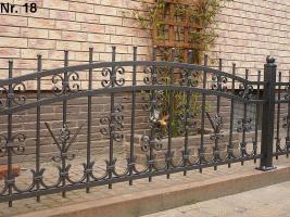 Zaun aus Metal - Schmiedezäune, Tore, Pforten aus POLEN