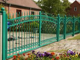 Foto 2 Zaun aus Metal - Schmiedezäune, Tore, Pforten aus POLEN