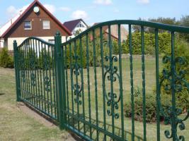 Foto 3 Zaun aus Metal - Schmiedezäune, Tore, Pforten aus POLEN