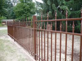 Foto 4 Zaun aus Metal - Schmiedezäune, Tore, Pforten aus POLEN