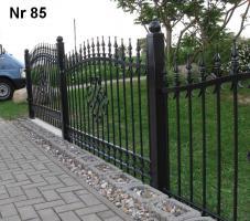 Foto 5 Zaun aus Metal - Schmiedezäune, Tore, Pforten aus POLEN
