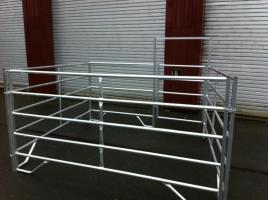 Zaun Panel aus Alu