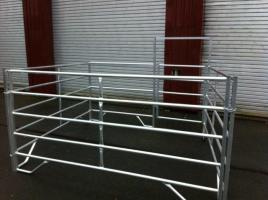 Foto 3 Zaun Panel aus Alu