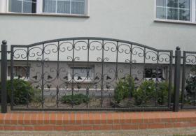 Foto 10 Zaun aus Polen vom Hersteller -15% Winterpromotion, Metallzaun