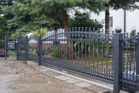 Foto 4 Zaun aus Polen Metallzäune, Geländer , Metalltreppen
