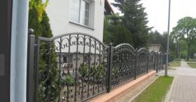 Foto 3 Zaun aus Polen Metallzaun aus Polen Schmiedezaun aus Polen