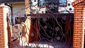 Foto 6 Zaun aus Polen Metallzaun aus Polen Schmiedezaun aus Polen