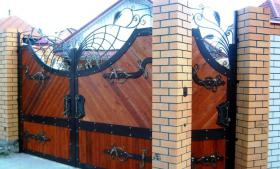 Foto 10 Zaun aus Polen Metallzaun aus Polen Schmiedezaun aus Polen
