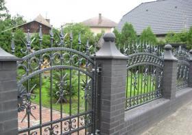 Foto 8 Zaun aus Polen feuerverzinkt und pulverbeschichtet – 15%