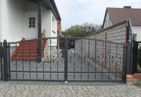 Foto 9 Zaun aus Polen feuerverzinkt und pulverbeschichtet – 15%