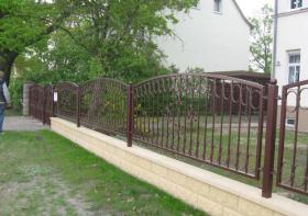 Foto 16 Zaun aus Polen feuerverzinkt und pulverbeschichtet – 15%