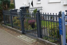 Foto 3 Zaun aus Polen, Doppelstabmattenzäune, Tor, Pforte, Sichschutz, Zaunanlage aus Polen