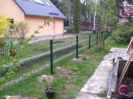 Foto 9 Zaun aus Polen, Doppelstabmattenzäune, Tor, Pforte, Sichschutz, Zaunanlage aus Polen