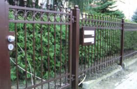 Foto 8 Zaun aus Polen, Zäune, Tore, Pforten, Geländer aus Metall