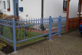 Foto 9 Zaun aus Polen, Zäune, Tore, Pforten, Geländer aus Metall