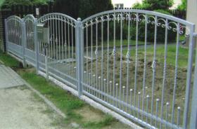 Foto 3 Zaun aus Polen, schmiedeeiserne Zäune aus Polen - günstig