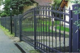 Foto 4 Zaun aus Polen, schmiedeeiserne Zäune aus Polen - günstig