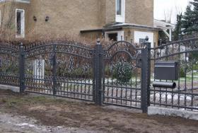Foto 6 Zaun aus Polen, schmiedeeiserne Zäune aus Polen - günstig