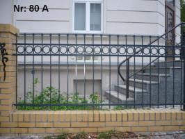 Foto 7 Zaun und Tor Muster Nr 29 - alle Farben nach Ral-Code möglich - aus Polen von BLASK