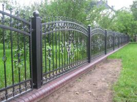 Foto 2 Zaun aus polen, Metallzaune, Carport, Schmiedeeisenzaune