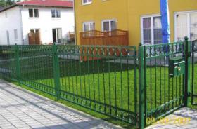 Foto 8 Zaun °°° Schmiedeeiserne Zäune aus Polen °°° Zaun