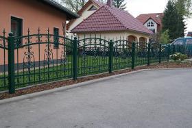 Foto 2 Zaun, Zäune aus Polen, Metallzaune, Metalltreppen, Balkone, Tore mit Elektroantrieb Doppelstabmattenzaun , Doppelstabmatten, Fenstergitter!!! ~BEDAR~