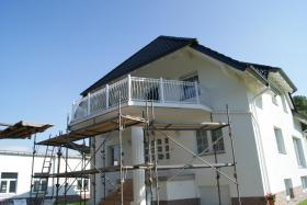 Foto 3 Zaun, Zäune aus Polen, Metallzaune, Metalltreppen, Balkone, Tore mit Elektroantrieb Doppelstabmattenzaun , Doppelstabmatten, Fenstergitter!!! ~BEDAR~