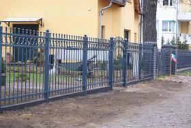 Foto 2 Zaun, Zaune aus Polen, Metallzaune, Schmiedeeiserne Zaune, Doppelstabmatten, Fenstergitter!!! ~BEDAR~