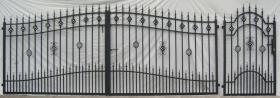Foto 5 Zaun, freitragendes Schiebetor, Flügeltor, Rolltor, Zäune, Pforte - alles aus Metall