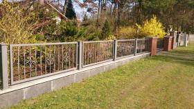 Foto 2 Zaunbau Metallzaun Gartenzaun Schmiedezaun Pforte Tor aus Polen – 15%